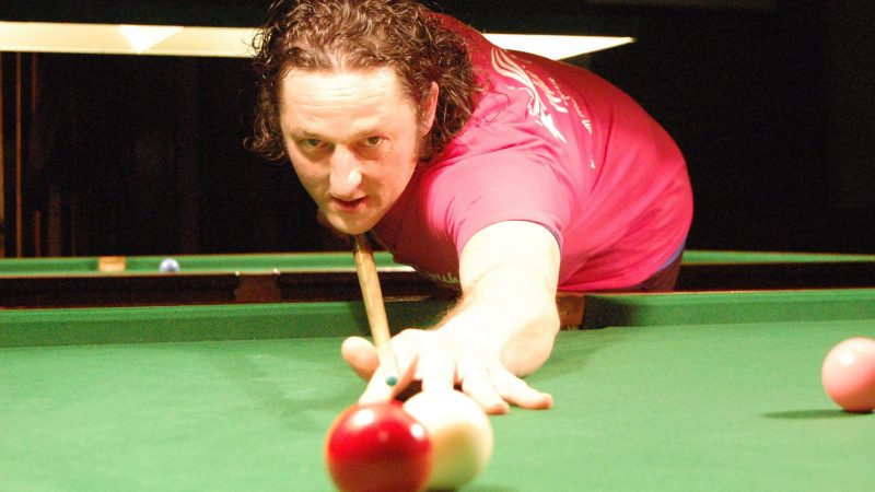 Steve wins black ball thriller at Cotgrave Welfare