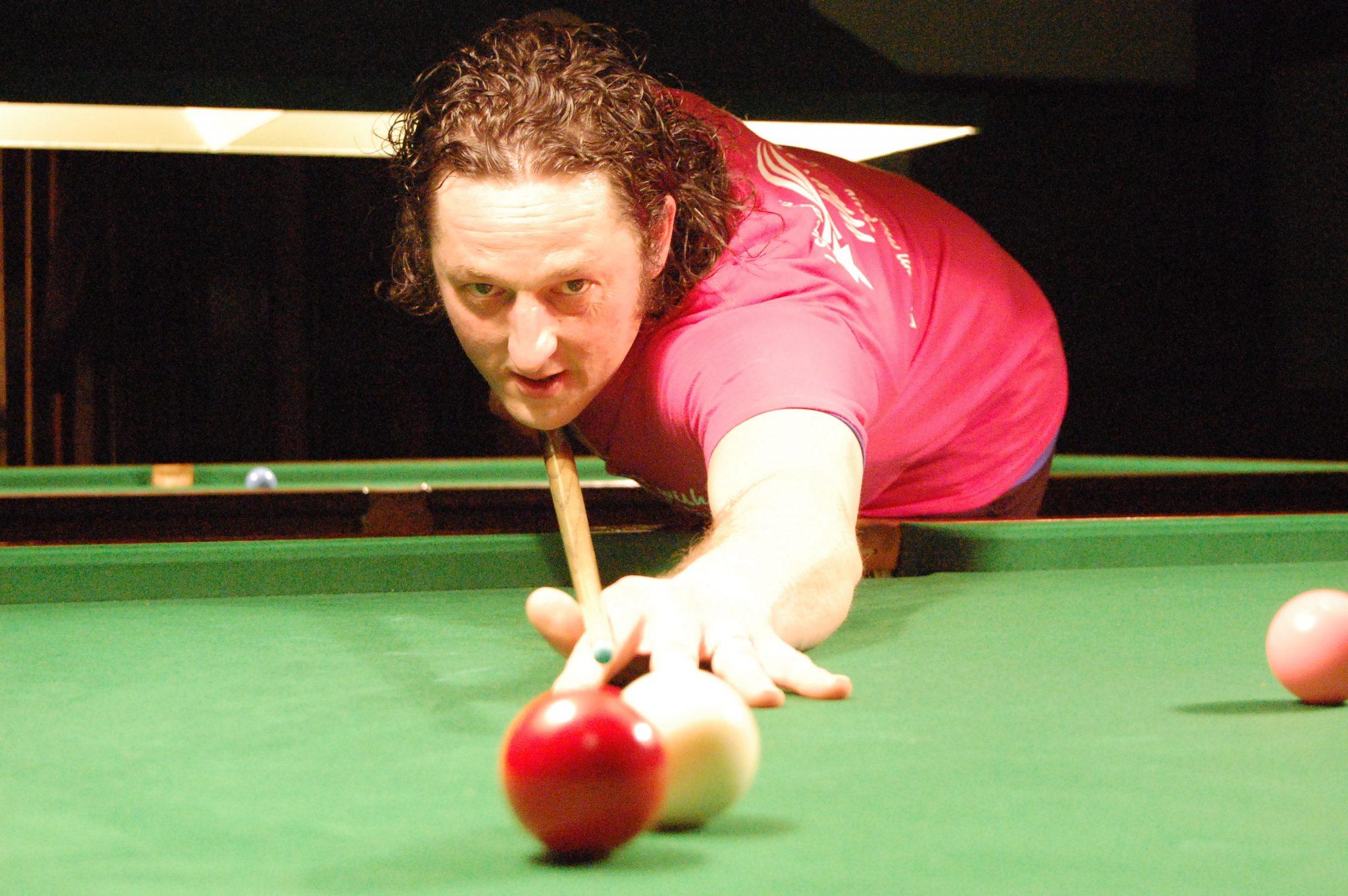 Steve wins black ball thriller at Cotgrave Welfare