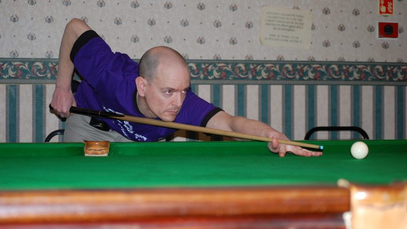 Jon makes it two in a row at Beeston Ex-Servicemen's Victory Club