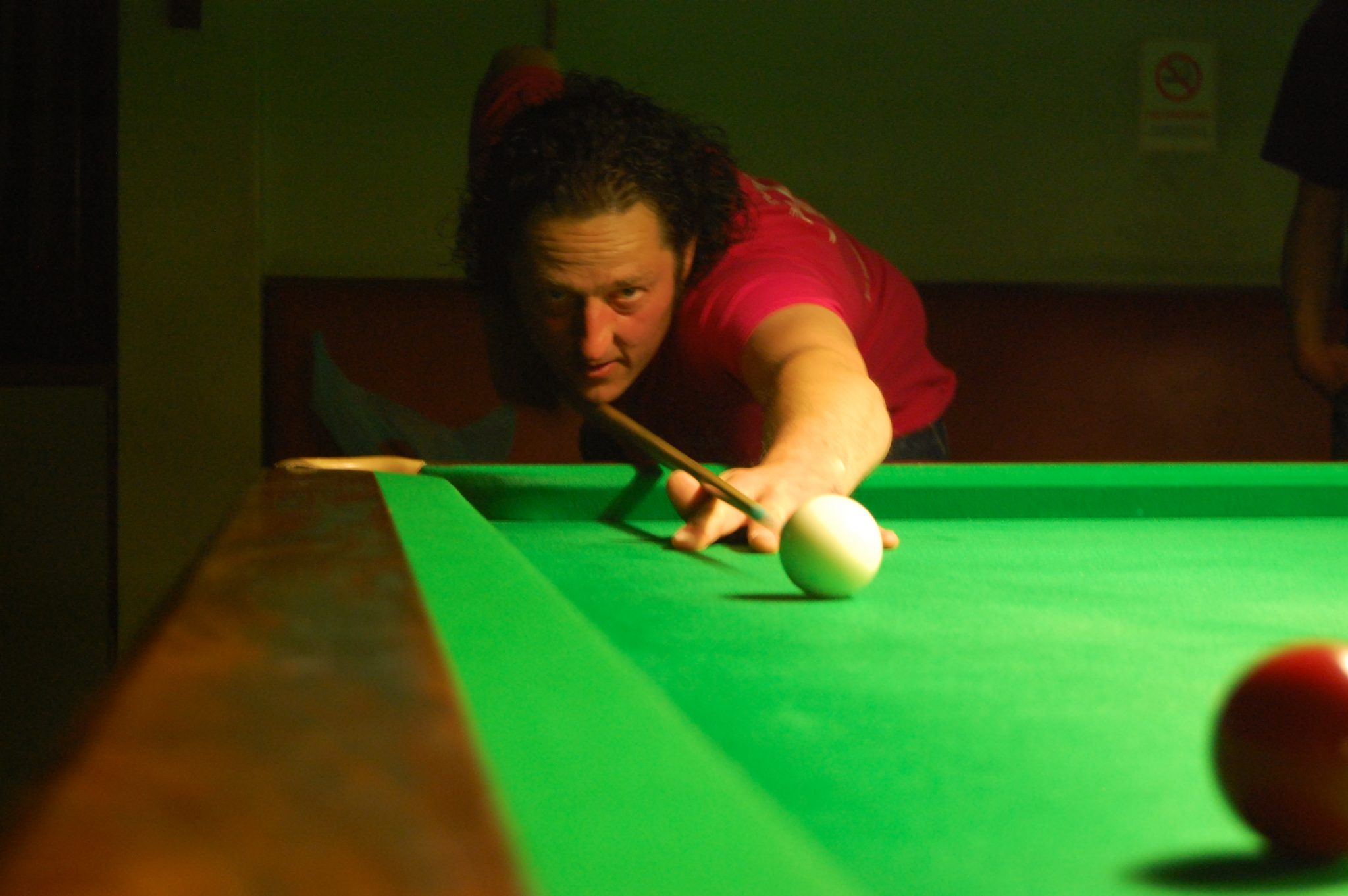 Steve extends his lead at BCI Snooker Centre