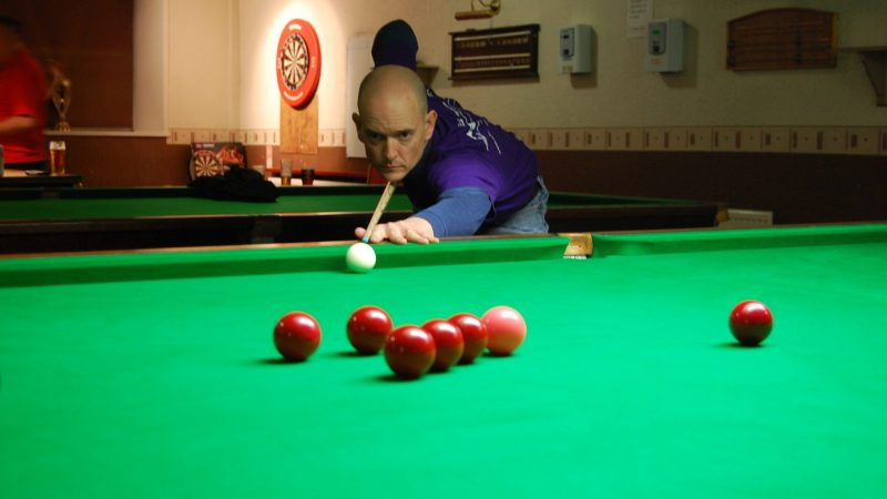Jon hits form at Kirkby Cross Snooker Club