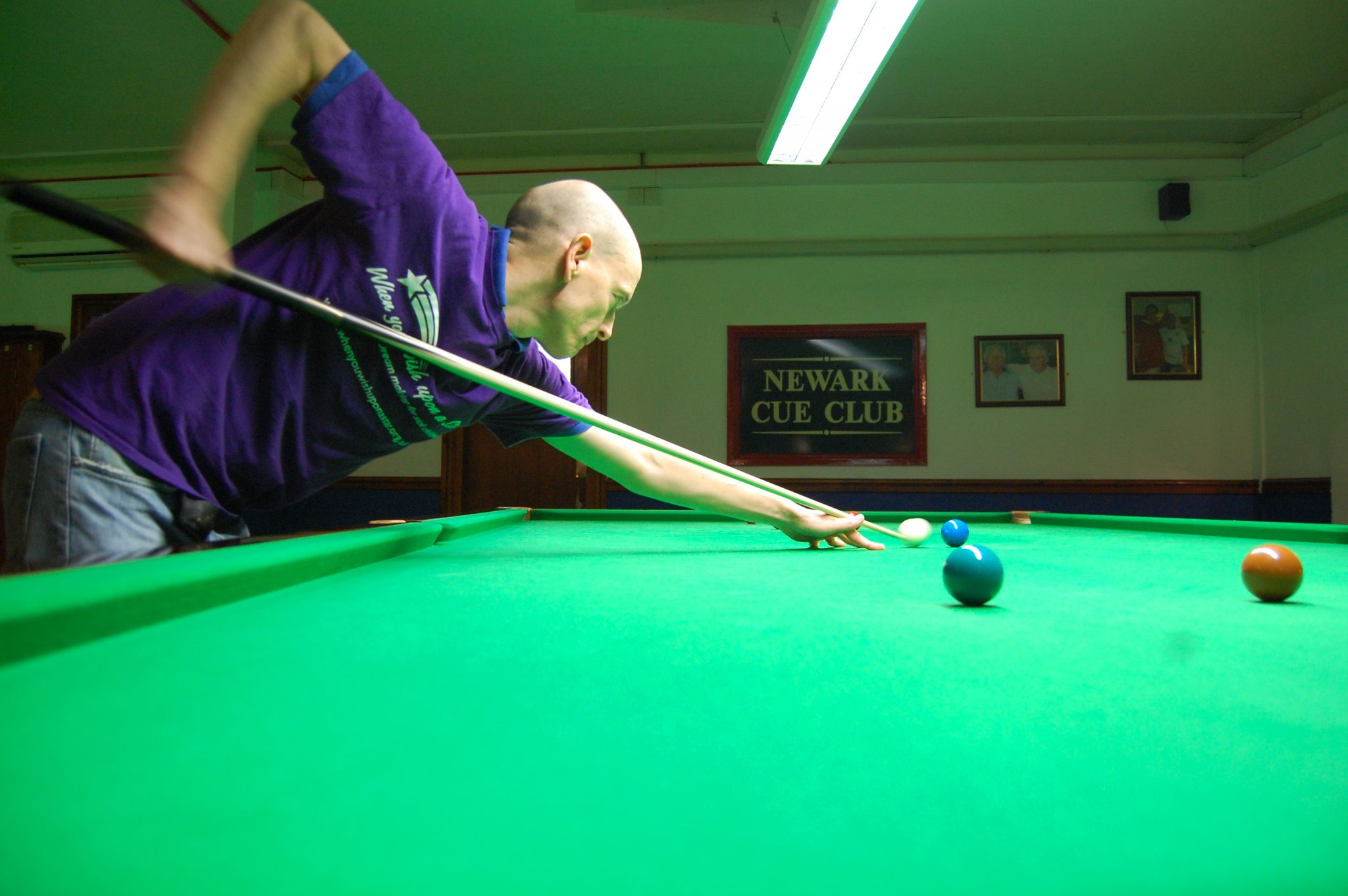 Jon victorious again at Newark Cue Club
