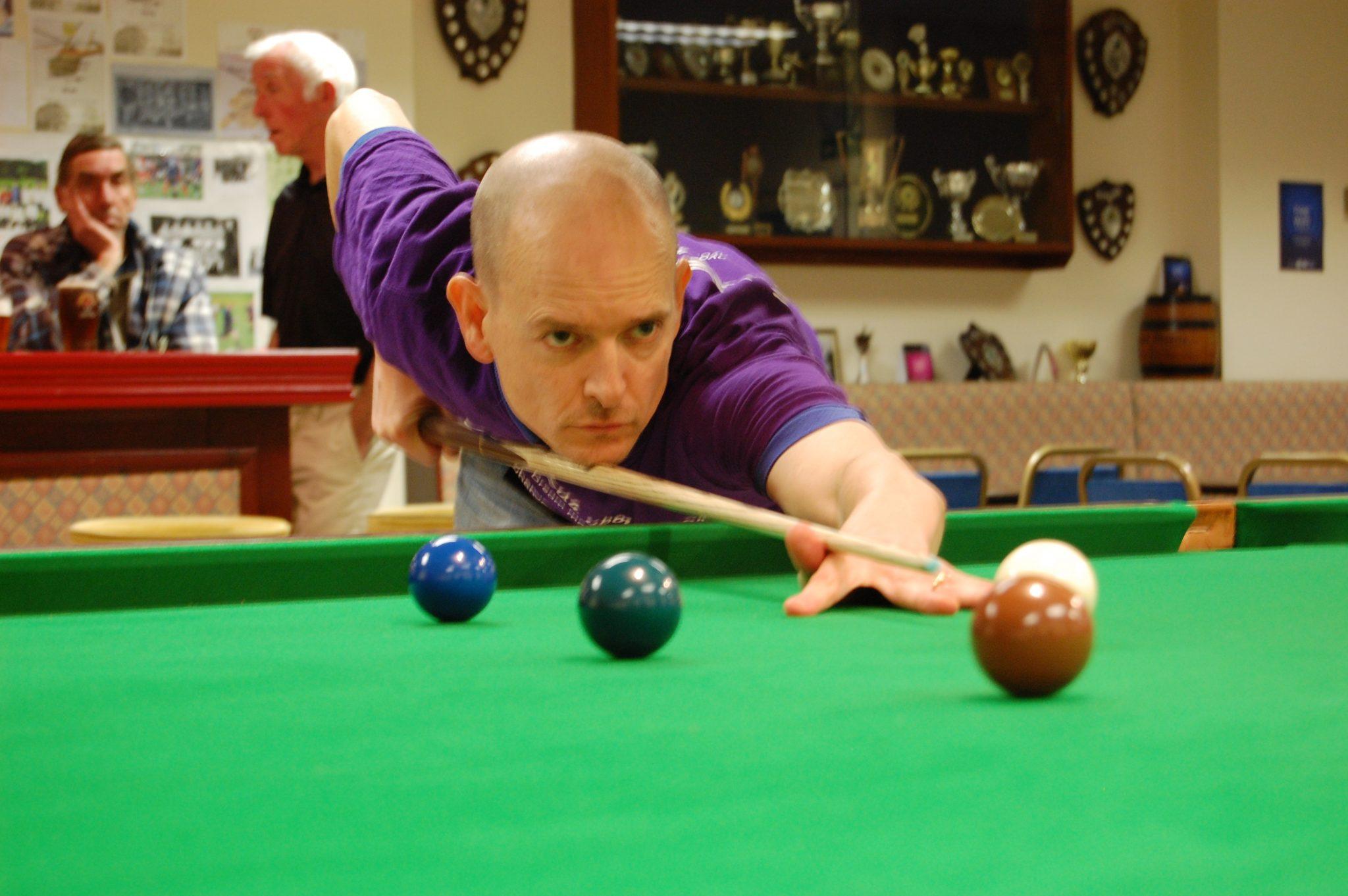 Jon draws level with win at Radcliffe Royal British Legion