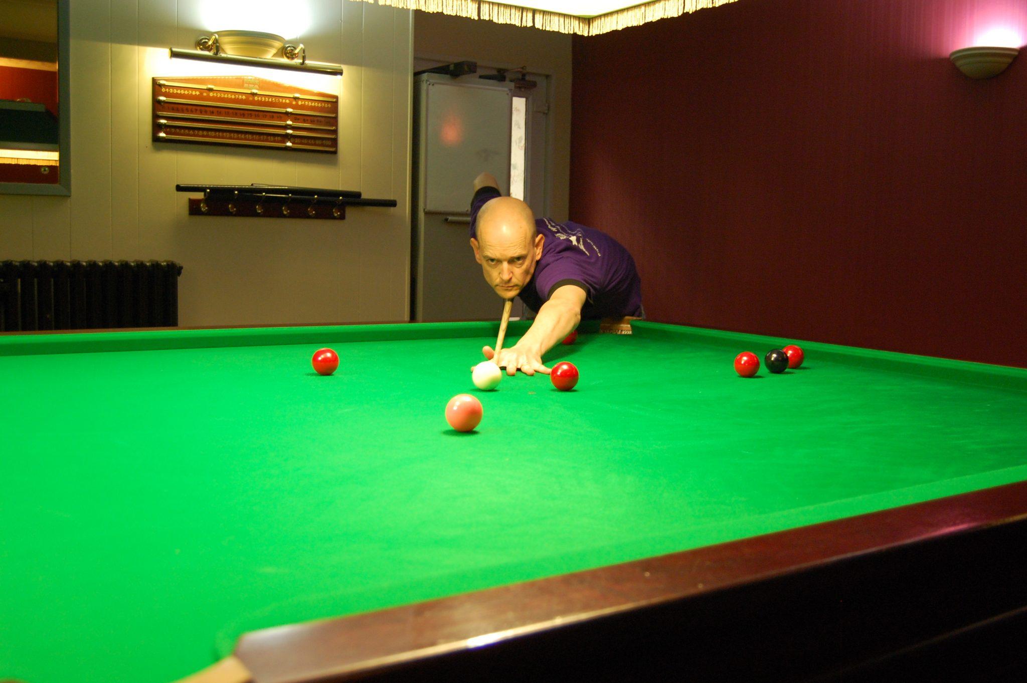 Victory for Jon at Warsop Ex-Servicemens Club