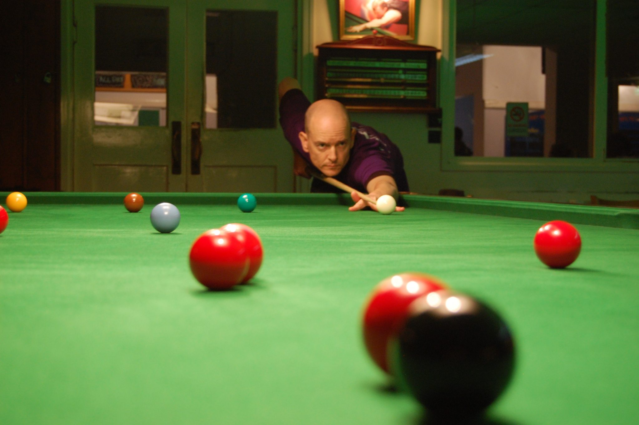 Jon wins at Worksop Snooker Centre