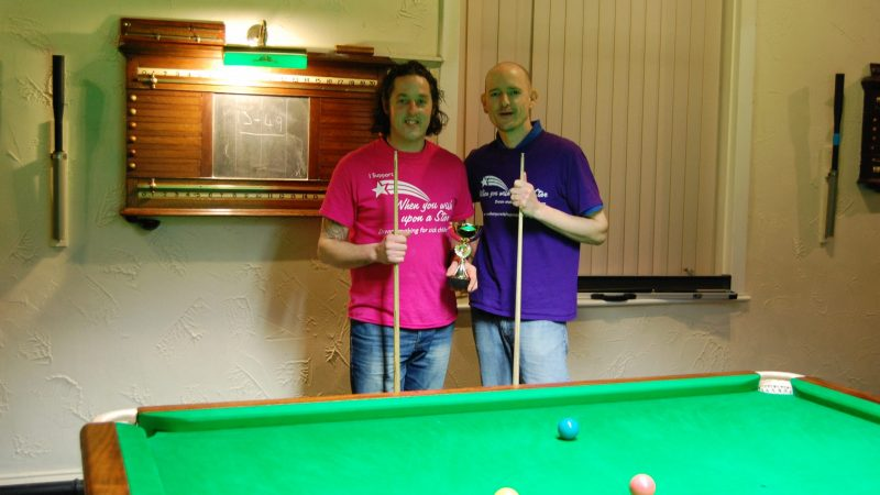 Jon & Steve finish their Tour at Lenton Liberal Club