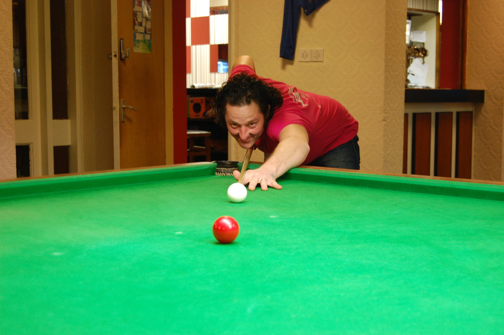 A comfortable win for Steve at Longden Terrace Miners Welfare