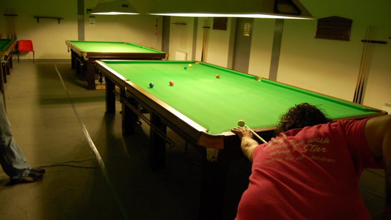 Steve wins at Millers Snooker Club