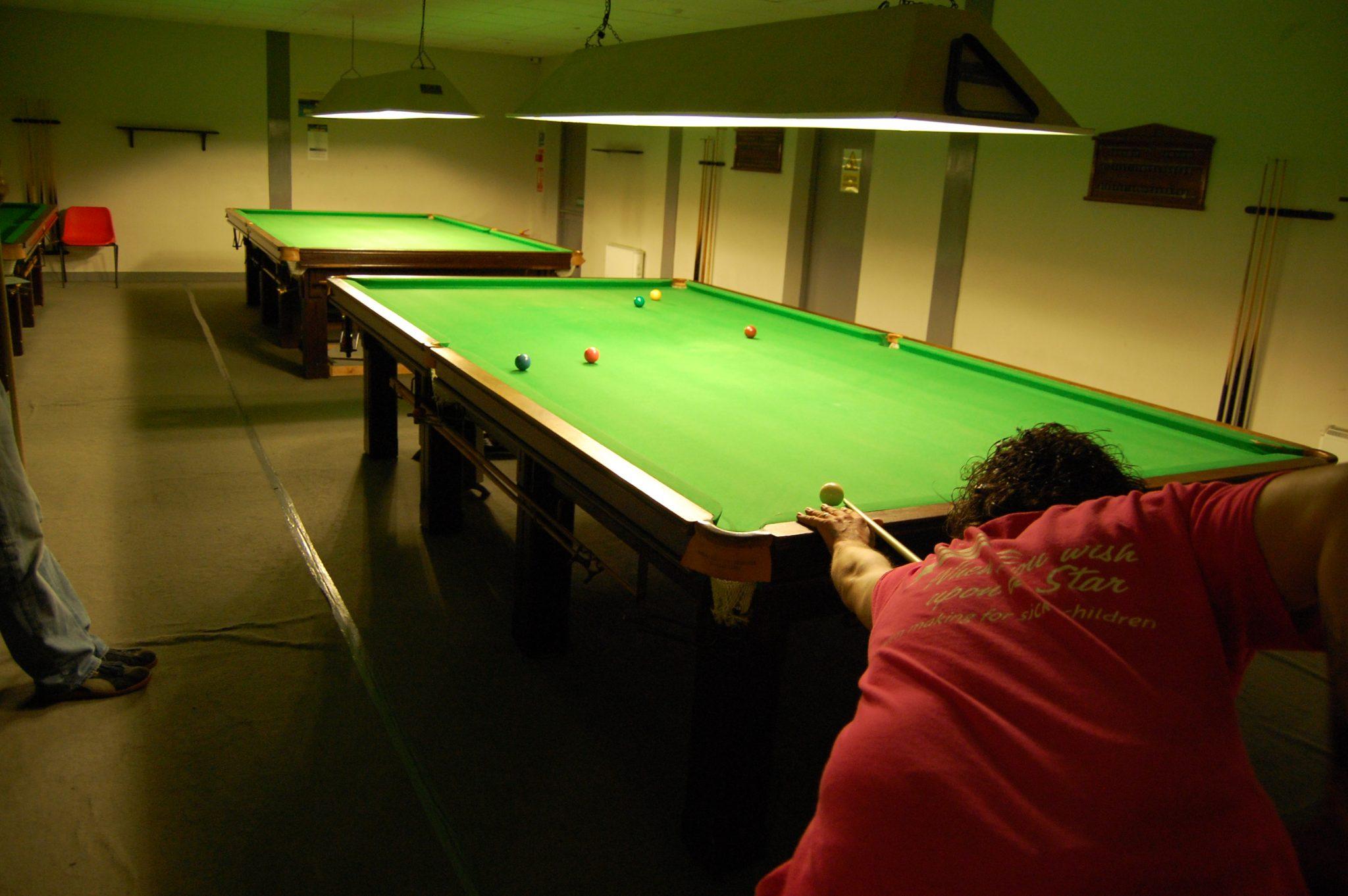 Steve wins at Millers Snooker Club