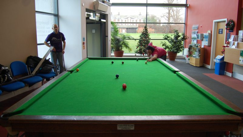 Steve pots terrific black to win at Sutton Bonington