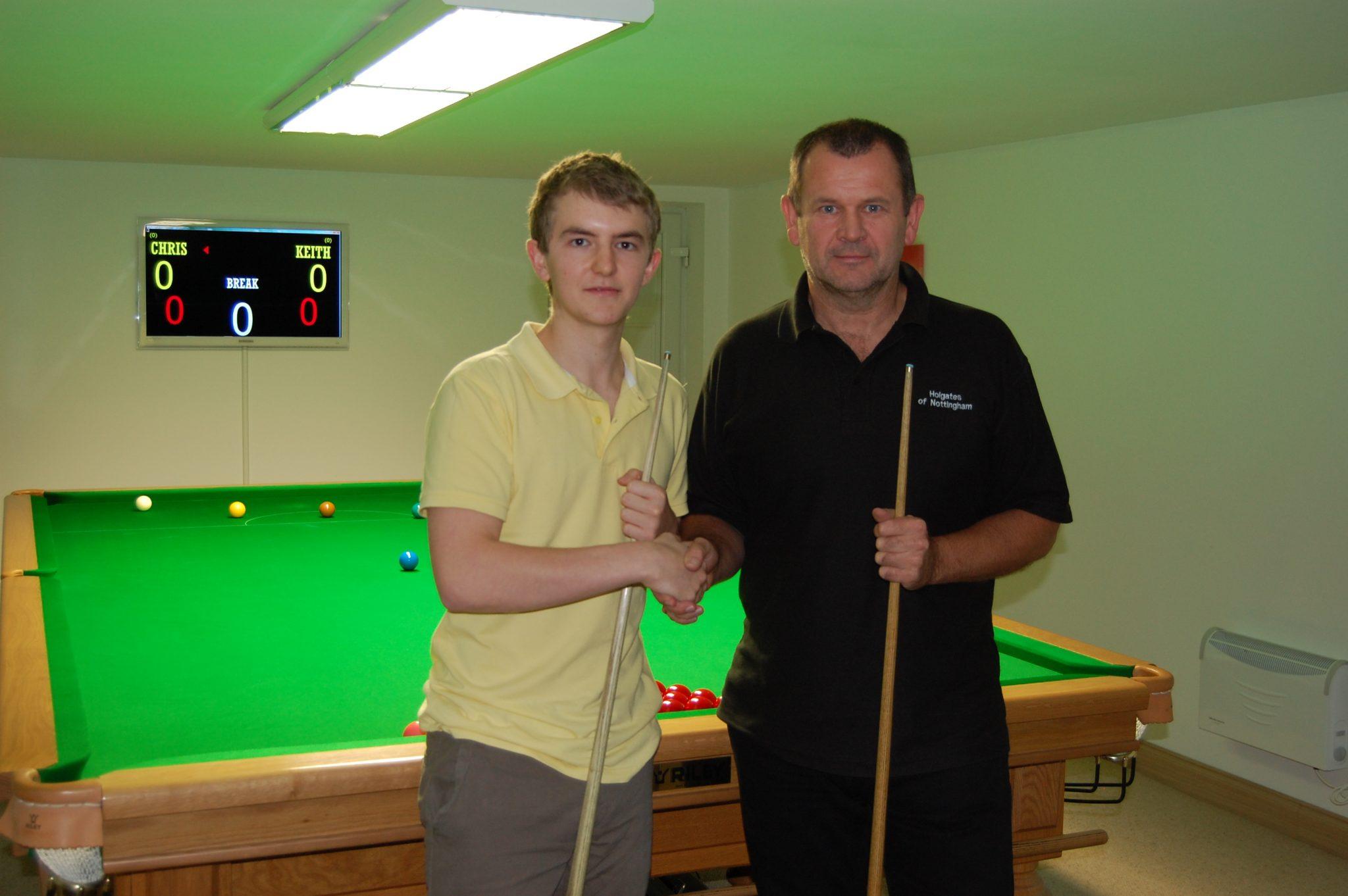 Chris Keogan 5-4 Keith Holgate