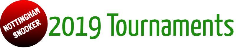 Tournament Calendar 2019