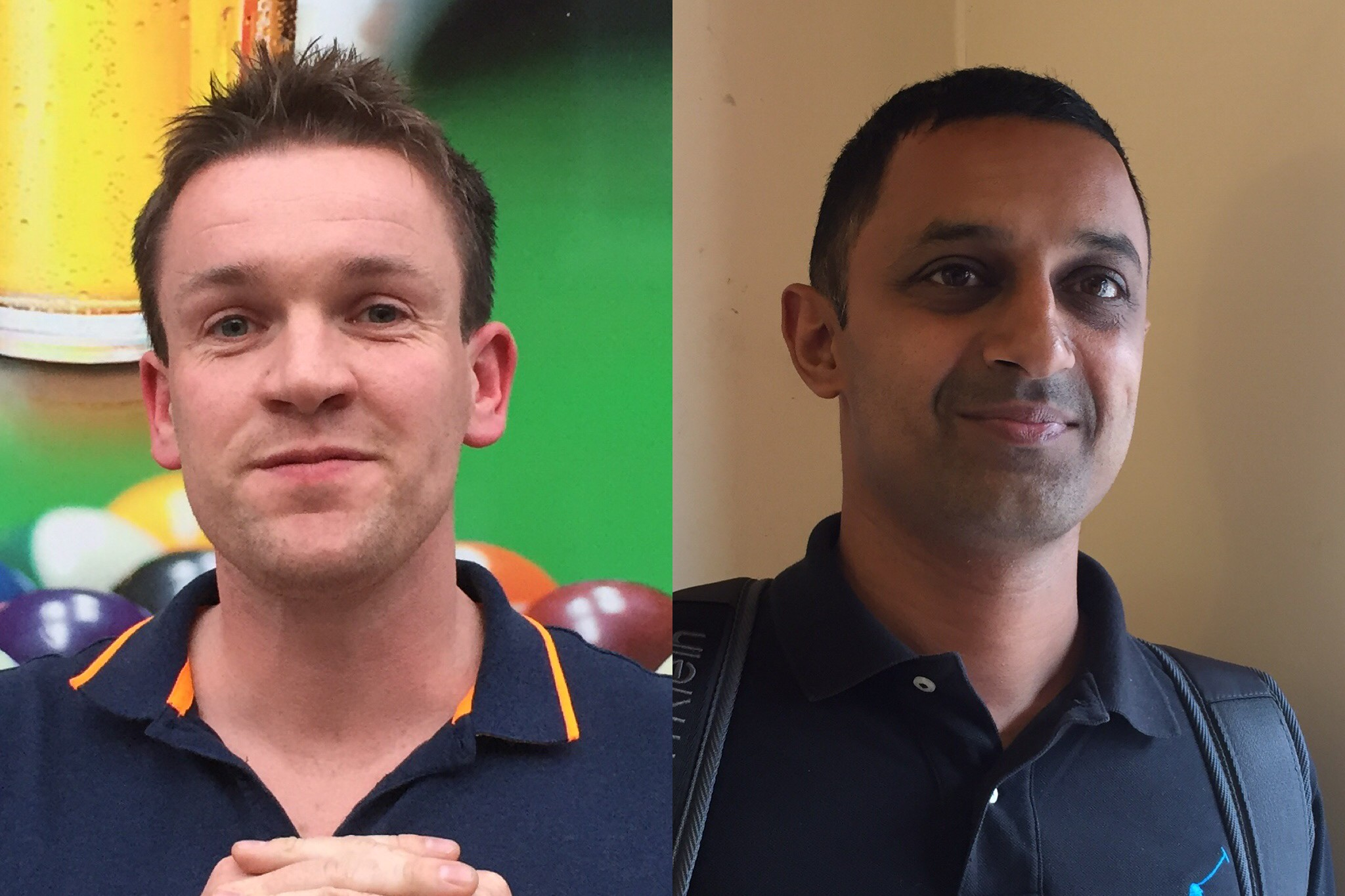 John Fountain and Nav Hussain reach the final of the 2019 Masters