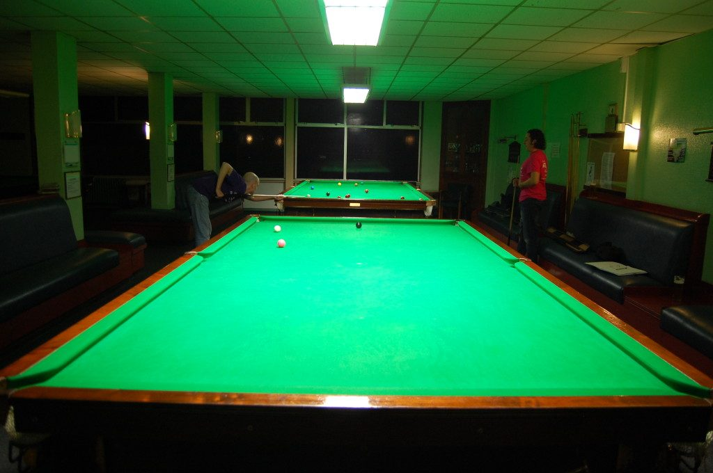 This was a lovely club in Beeston with four quality snooker tables.  It was a real shame when this historic club closed down.