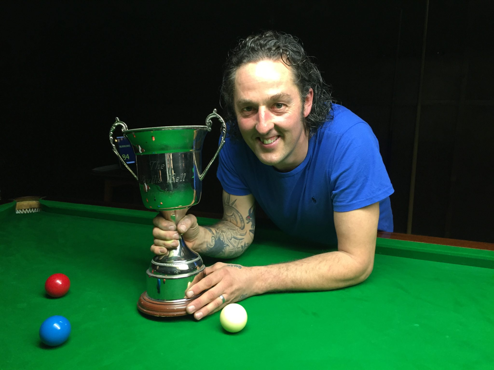 Burrows beats Jobling to win Phyllis Bell Trophy