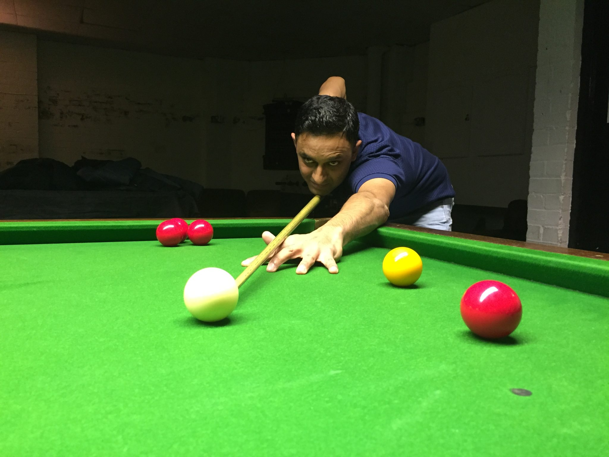 Hussain beats Abbas to win the Radford Open