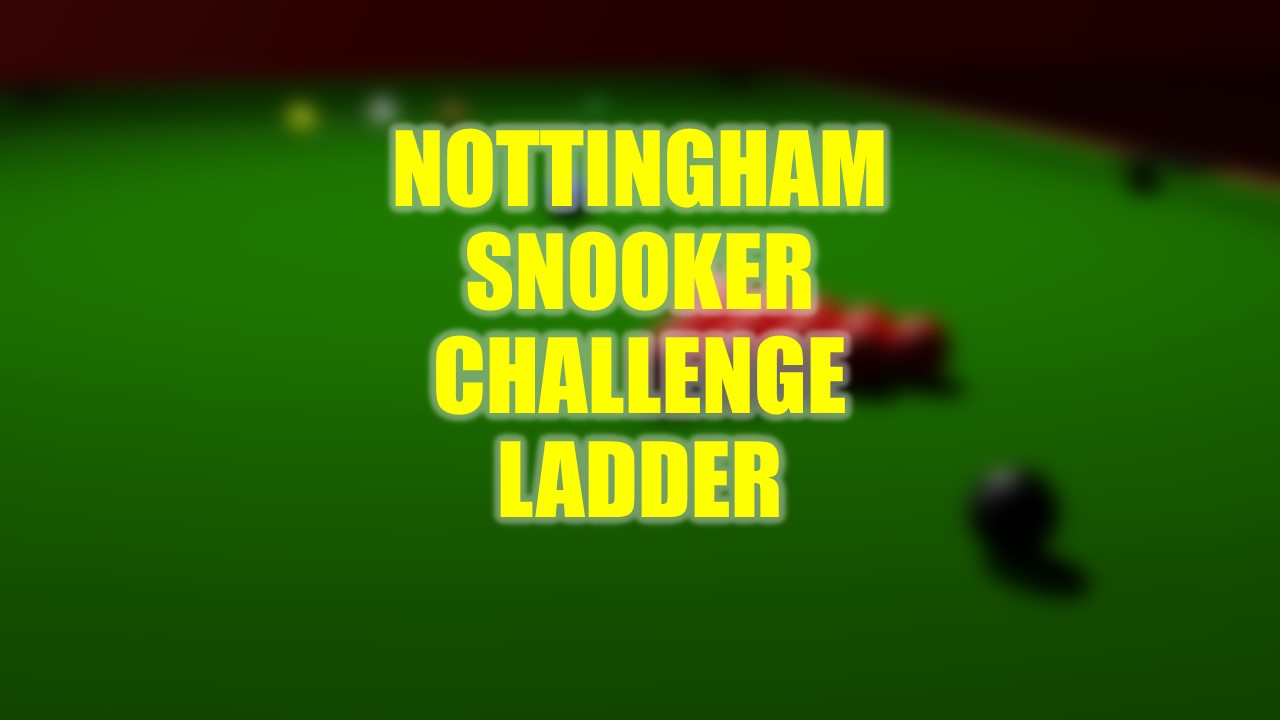 Sign up for the Challenge Ladder now!