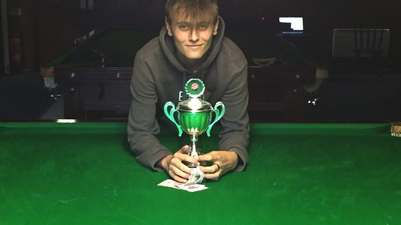 Callum Hodgman takes Sunday League title