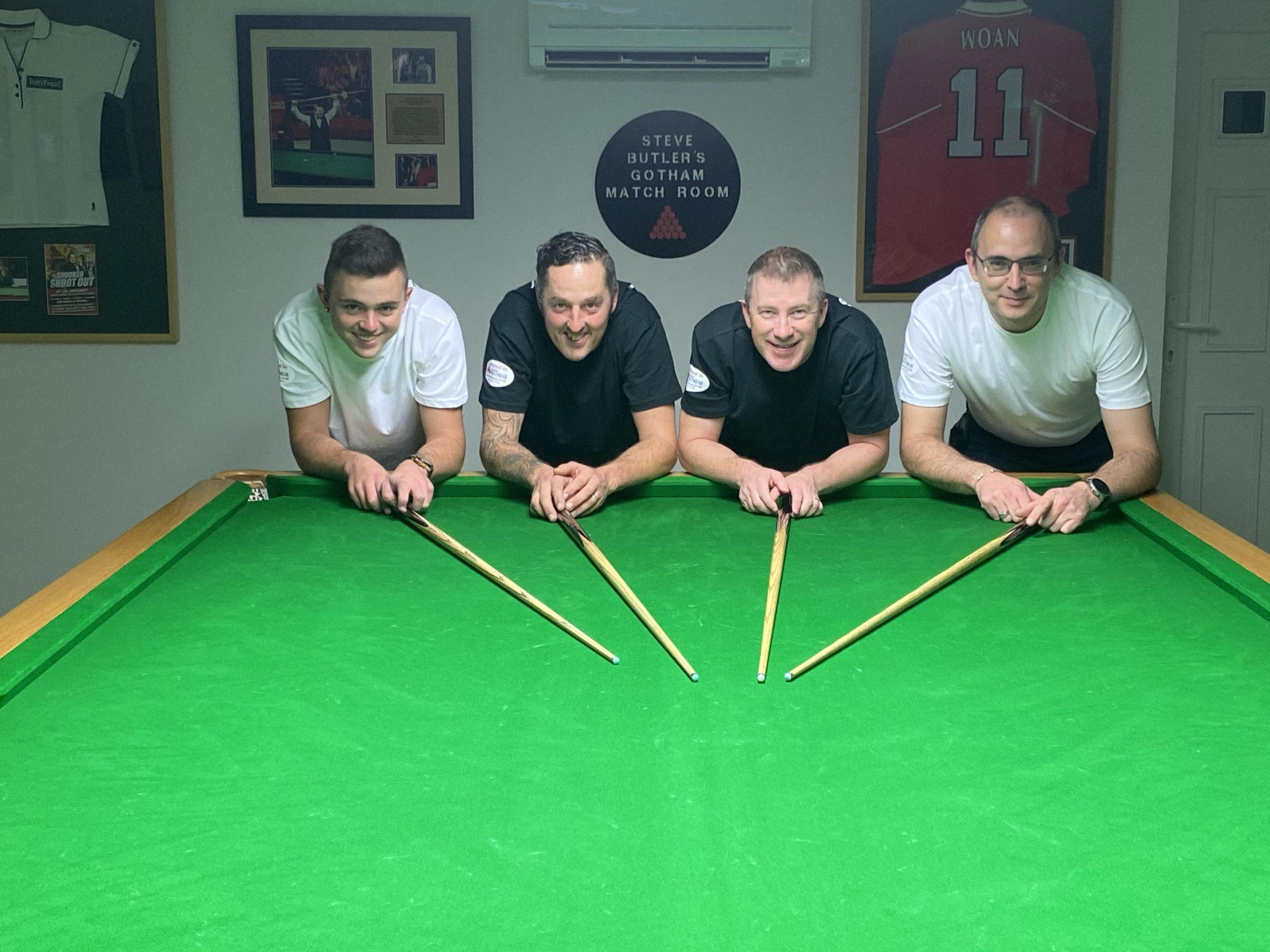 Snookerthon raises more than £1,500 for Adam